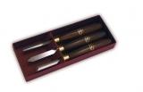 Crown Pen Set HSS 3-teilig  - 94 - Drechselshop Kramer