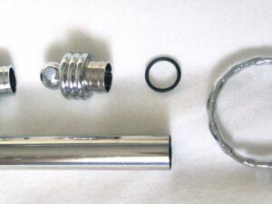 Schlüsselanhänger mit Geheimfach  - 2