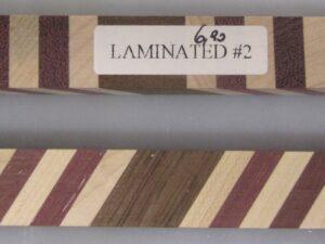 Pen Blank Laminated Nr.2  - 6
