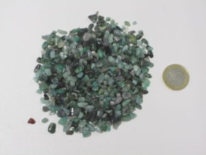 Smaragd micro Trommelsteine  - 11