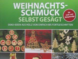 Buch - Weihnachtsschmuck selbst gesägt  - 19 - Drechselshop Kramer