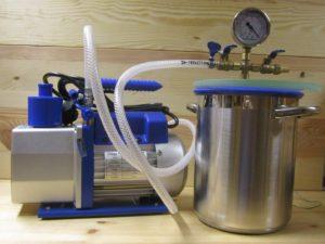 Vacuumanlagen  - 499 - Drechselshop Kramer