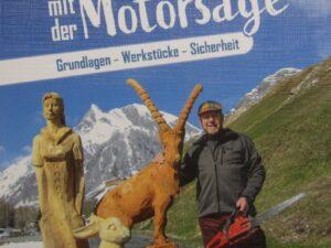 """Buch  """"Schnitzen mit der Motorsäge""""  - 19 - Drechselshop Kramer"""