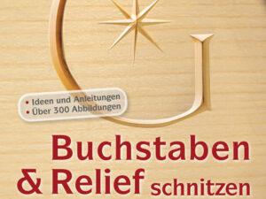 Buchstaben und Relief schnitzen  - 19 - Drechselshop Kramer